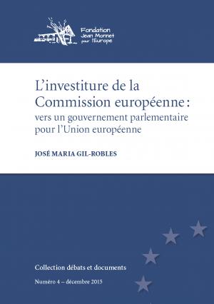 15-12-01 publ. légère - L'investiture de la Commission européenne GR couverture